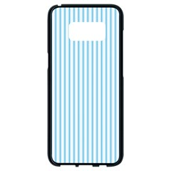 Oktoberfest Bavarian Blue And White Mattress Ticking Samsung Galaxy S8 Black Seamless Case by PodArtist