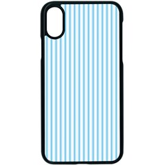 Oktoberfest Bavarian Blue And White Mattress Ticking Apple Iphone X Seamless Case (black) by PodArtist