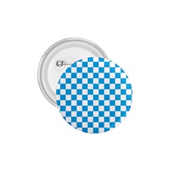 Oktoberfest Bavarian Large Blue And White Checkerboard 1 75  Buttons by PodArtist