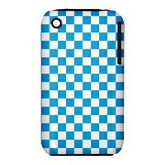 Oktoberfest Bavarian Large Blue And White Checkerboard Iphone 3s/3gs by PodArtist