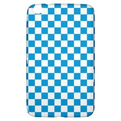 Oktoberfest Bavarian Large Blue And White Checkerboard Samsung Galaxy Tab 3 (8 ) T3100 Hardshell Case  by PodArtist