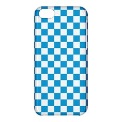 Oktoberfest Bavarian Large Blue And White Checkerboard Apple Iphone 5c Hardshell Case by PodArtist