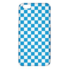 Oktoberfest Bavarian Large Blue And White Checkerboard Iphone 6 Plus/6s Plus Tpu Case by PodArtist