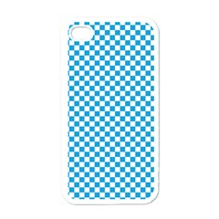 Oktoberfest Bavarian Blue And White Checkerboard Apple Iphone 4 Case (white) by PodArtist