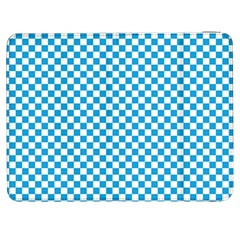Oktoberfest Bavarian Blue And White Checkerboard Samsung Galaxy Tab 7  P1000 Flip Case by PodArtist