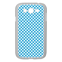 Oktoberfest Bavarian Blue And White Checkerboard Samsung Galaxy Grand Duos I9082 Case (white) by PodArtist