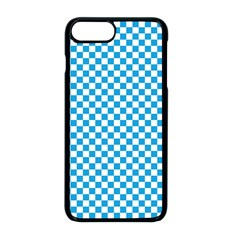 Oktoberfest Bavarian Blue And White Checkerboard Apple Iphone 8 Plus Seamless Case (black) by PodArtist