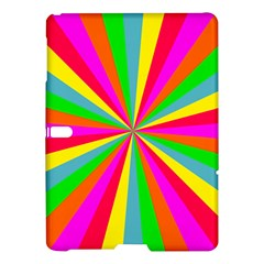 Neon Rainbow Mini Burst Samsung Galaxy Tab S (10 5 ) Hardshell Case