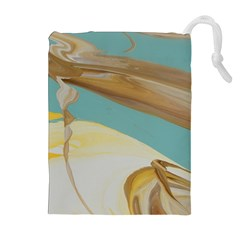 Sun Bubble Drawstring Pouch (xl)