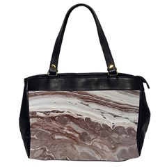 Mud Oversize Office Handbag (2 Sides)