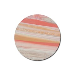 Alien Atmosphere Rubber Round Coaster (4 Pack)  by WILLBIRDWELL
