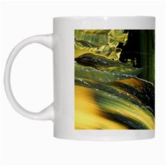 Yellow Dog White Mugs