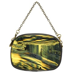 Yellow Dog Chain Purse (two Sides)