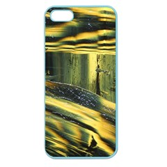 Yellow Dog Apple Seamless Iphone 5 Case (color)