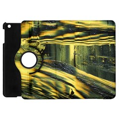 Yellow Dog Apple Ipad Mini Flip 360 Case by WILLBIRDWELL