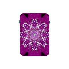 Wonderful Star Flower Painted On Canvas Apple Ipad Mini Protective Soft Cases by pepitasart