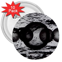 Yin 3  Buttons (10 Pack)