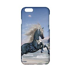 Wonderful Wild Fantasy Horse On The Beach Apple Iphone 6/6s Hardshell Case by FantasyWorld7