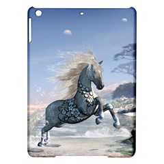 Wonderful Wild Fantasy Horse On The Beach Ipad Air Hardshell Cases by FantasyWorld7