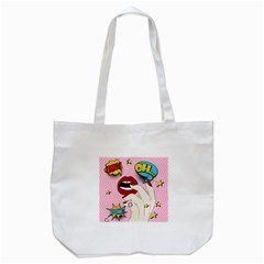 Pop Art   Tote Bag (white)