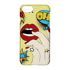 Pop Art   Apple Iphone 7 Hardshell Case by Valentinaart