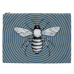 Pop Art  Bee Cosmetic Bag (xxl) by Valentinaart