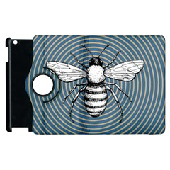 Pop Art  Bee Apple Ipad 2 Flip 360 Case