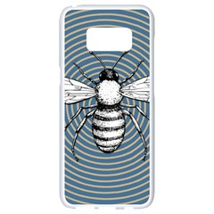 Pop Art  Bee Samsung Galaxy S8 White Seamless Case