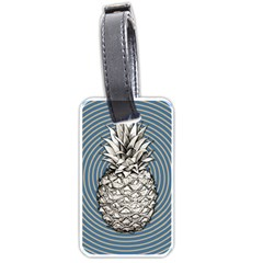 Pop Art  Pineapple  Luggage Tags (two Sides)