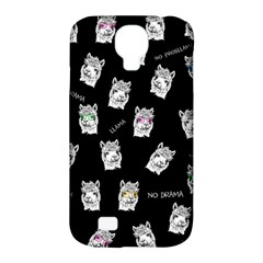 Llama Pattern Samsung Galaxy S4 Classic Hardshell Case (pc+silicone)