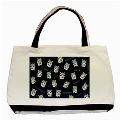 Llama Pattern Basic Tote Bag (two Sides) by Valentinaart