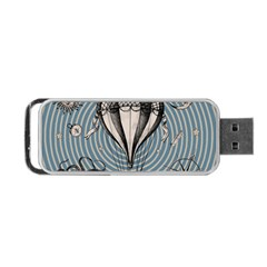 Vintage Adventure Expedition Portable Usb Flash (two Sides)