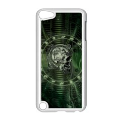 Awesome Creepy Mechanical Skull Apple Ipod Touch 5 Case (white) by FantasyWorld7