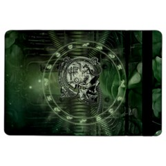 Awesome Creepy Mechanical Skull Ipad Air 2 Flip by FantasyWorld7