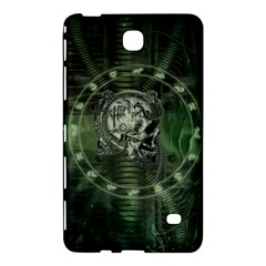 Awesome Creepy Mechanical Skull Samsung Galaxy Tab 4 (8 ) Hardshell Case  by FantasyWorld7
