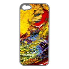 Yellow Chik 3 Apple Iphone 5 Case (silver)