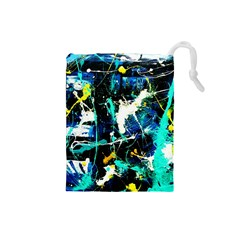Brain Reflections 6 Drawstring Pouch (small)