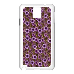 The Sky Is Not The Limit For A Floral Delight Samsung Galaxy Note 3 N9005 Case (white) by pepitasart