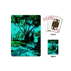 Hot Day In Dallas 50 Playing Cards (mini) by bestdesignintheworld