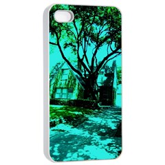 Hot Day In Dallas 50 Apple Iphone 4/4s Seamless Case (white) by bestdesignintheworld