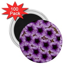 The Sky Is Not The Limit For Beautiful Big Flowers 2 25  Magnets (100 Pack)  by pepitasart