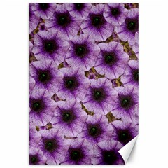 The Sky Is Not The Limit For Beautiful Big Flowers Canvas 20  X 30  by pepitasart