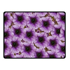 The Sky Is Not The Limit For Beautiful Big Flowers Fleece Blanket (small) by pepitasart