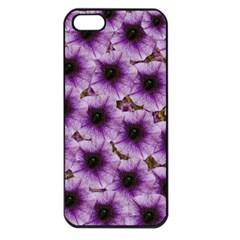 The Sky Is Not The Limit For Beautiful Big Flowers Apple Iphone 5 Seamless Case (black) by pepitasart