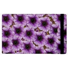 The Sky Is Not The Limit For Beautiful Big Flowers Apple Ipad 2 Flip Case by pepitasart