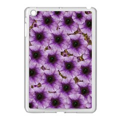 The Sky Is Not The Limit For Beautiful Big Flowers Apple Ipad Mini Case (white) by pepitasart