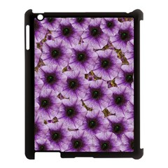 The Sky Is Not The Limit For Beautiful Big Flowers Apple Ipad 3/4 Case (black) by pepitasart