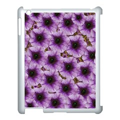 The Sky Is Not The Limit For Beautiful Big Flowers Apple Ipad 3/4 Case (white) by pepitasart