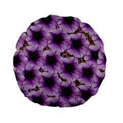 The Sky Is Not The Limit For Beautiful Big Flowers Standard 15  Premium Round Cushions by pepitasart
