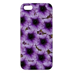 The Sky Is Not The Limit For Beautiful Big Flowers Iphone 5s/ Se Premium Hardshell Case by pepitasart